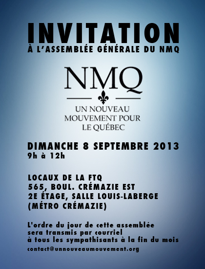 Invitation AGA_NMQ 2013