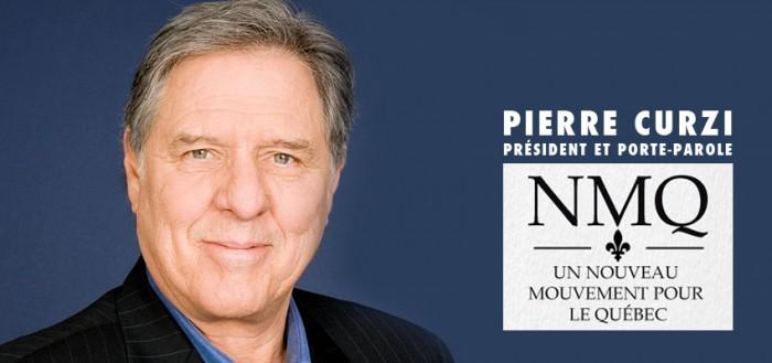 Pierre Curzi, président et porte-parole du NMQ.